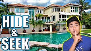 HIDE AND SEEK IN OUR NEW MANSION!