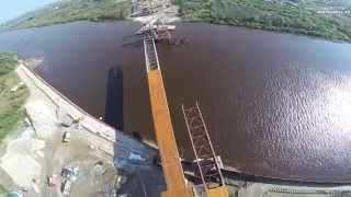 Новый мост через реку Тура между Лесобазой и Тобольским трактом