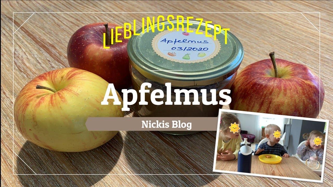 Apfelmus 🍎 | Lieblingsrezept| Mit und ohne Thermomix®TM5 | Fingerspiel | Nickis Blog