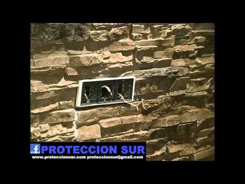 Instalaci n de placas simil piedra en poliuretano youtube - Placas imitacion piedra ...
