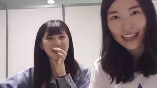 松井珠理奈 北川綾巴 SHOWROOM SKE48 160924.