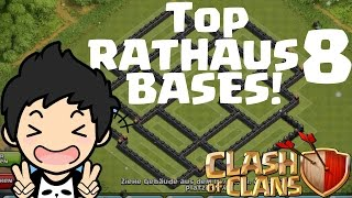 TOP RATHAUS 8 BASES! || CLASH OF CLANS || Let's Play CoC [Deutsch/German HD]