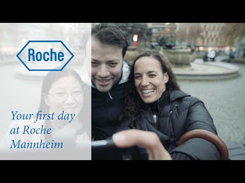 Your first day at Roche Mannheim