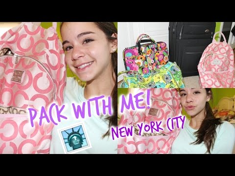 What I'm Bringing to New York City!   School Trip + Packing Tips