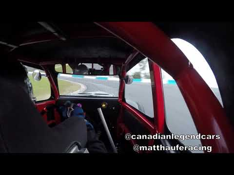 Canadian Legend Cars FZ09 New Legend Car Motor First Test Day Peterborough on