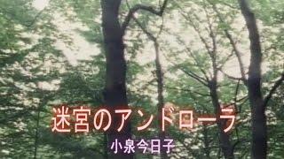 迷宮のアンドローラ (カラオケ) 小泉今日子