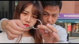為什麽鑰匙能從鐵環拔出,而沒有損壞?(Why can the key be pulled out of the iron ring without damage?)