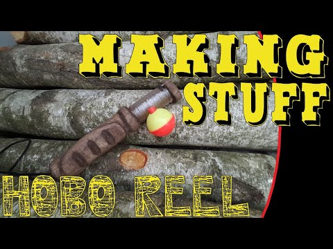Carving Hobo Fishing Reel - Easy Wood Carving Project