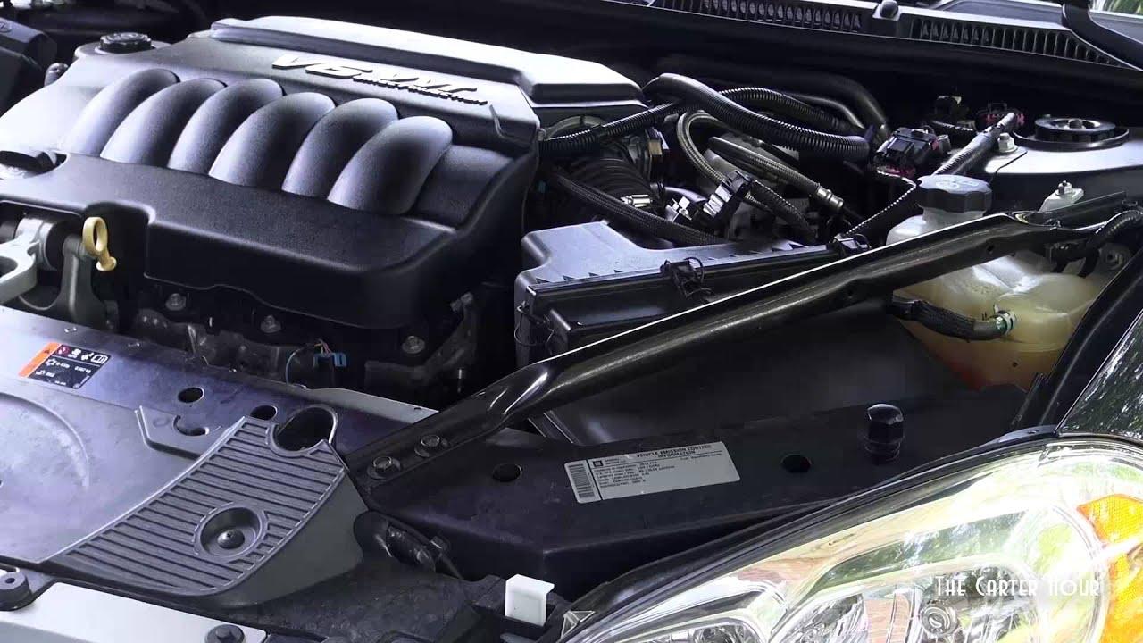 Cleaning Throttle Body 2012 Impala Youtube