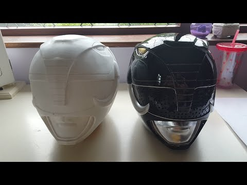 For Sale Black Power Ranger Cosplay Costume Helmet Youtube