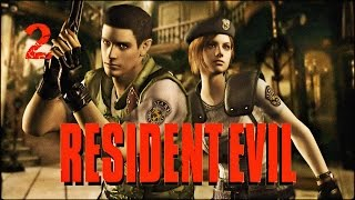Прохождение Resident Evil HD Remaster (PC) — Часть 2: Жгём зомби, убиваем собачек