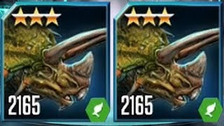 TRICERATOPS LEVEL 2165 - Jurassic World The Game