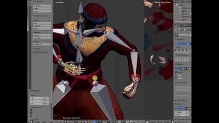 blender Быстрые уроки - скелетная анимация (rigging)