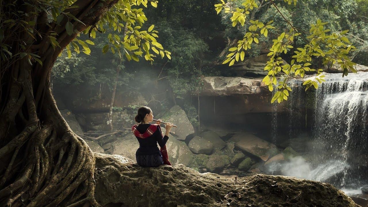 Flauta Curativa Zen China para Derar de Pensar Demasiado, Elimina el Estrés y Libera la Mente y Alma