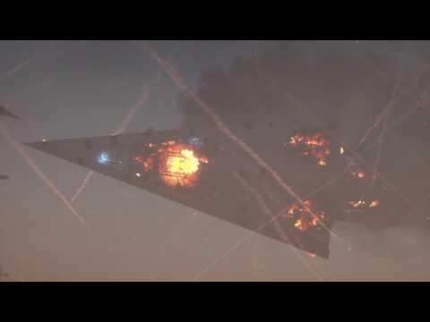 Star Wars Battlefront Cinematic Jakku Super Star Destroyer Crash-no commentary