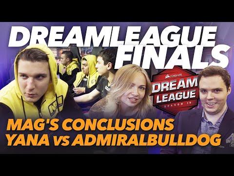 #NAVIVLOG: DreamLeague Finals, Mag's Conclusions, Yana Vs AdmiralBulldog