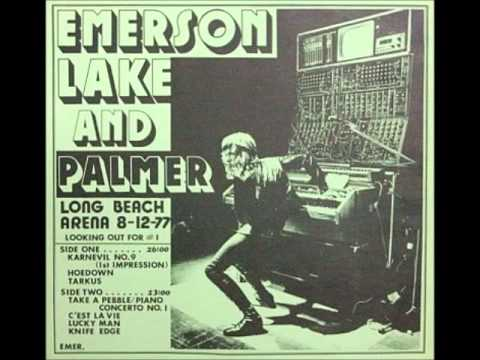 Emerson, Lake & Palmer  8-12-77 Long Beach