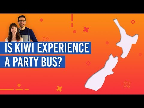 Is Kiwi Experience A Party Bus?