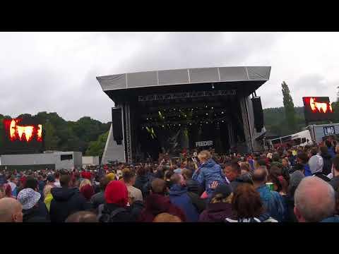 Feeder at Bingley Music Live 2017