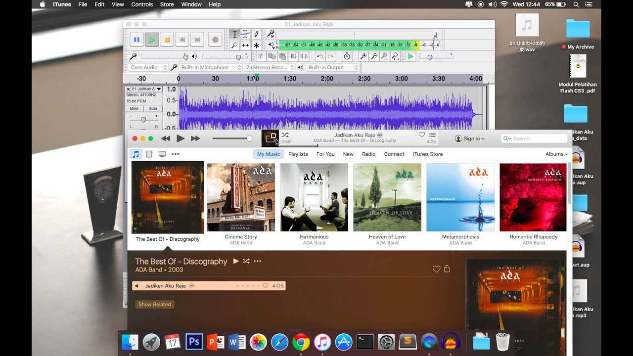 How to Simple Remove Vocal Just Audio For Mac With Audacity