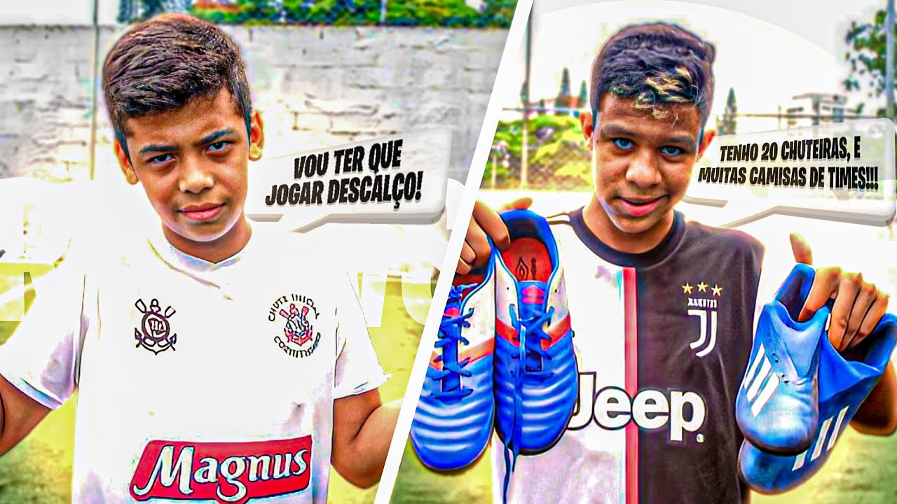 JOGADOR RICO vs JOGADOR POBRE!