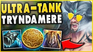 THIS TRYNDAMERE BUILD GIVES INFINITE GOLD + BUFFS! (UNLIMITED ELIXIR FARMING) - League of Legends