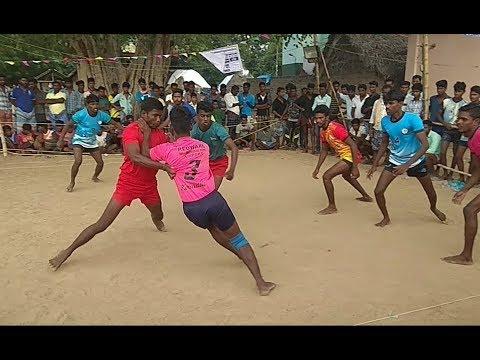 Pudukkottai District UPPUPATTI vs TRICHY Kabaddi match part 2 in UHD