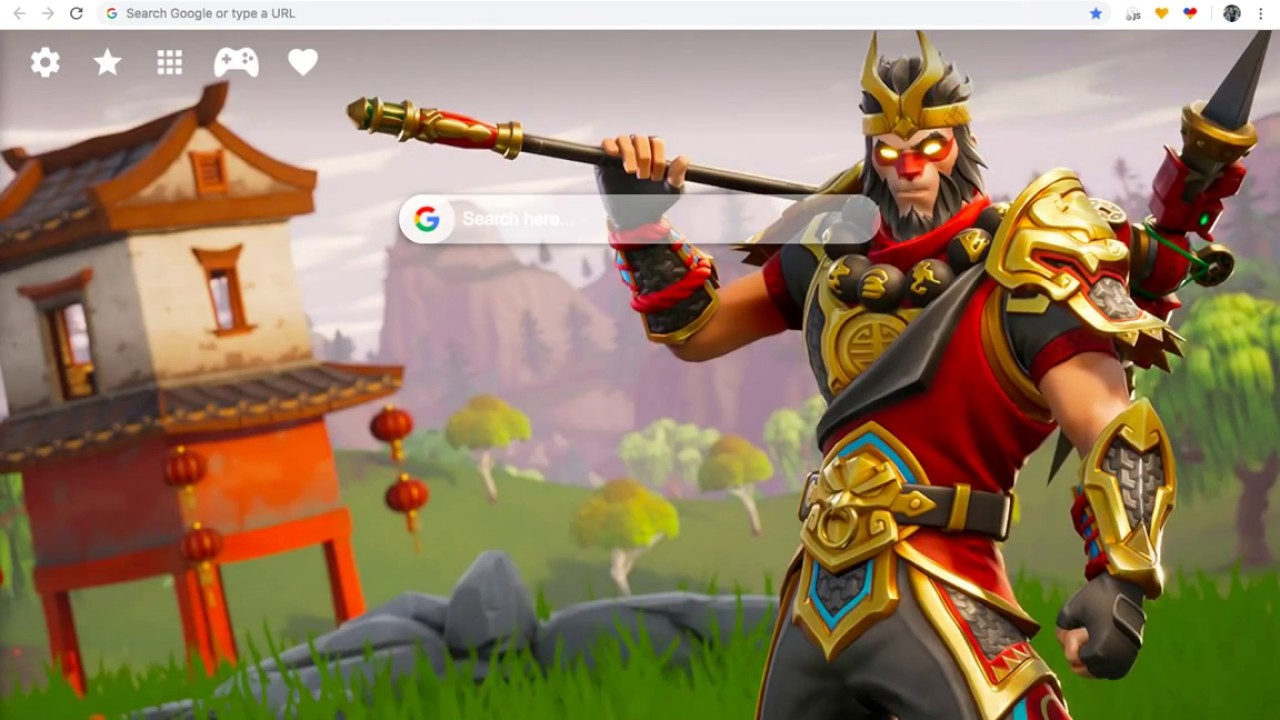 Fortnite Hd Wallpaper New Tab Theme Youtube