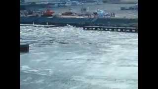 東北沖で発生した巨大地震によって発生した津波が数百キロ離れた相模川...