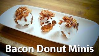 Easy Bacon Donut Minis Recipe