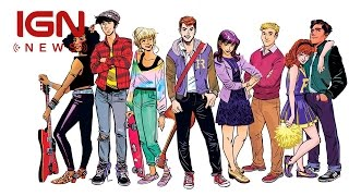 riverdale teaser revealed for archie comics series ign news