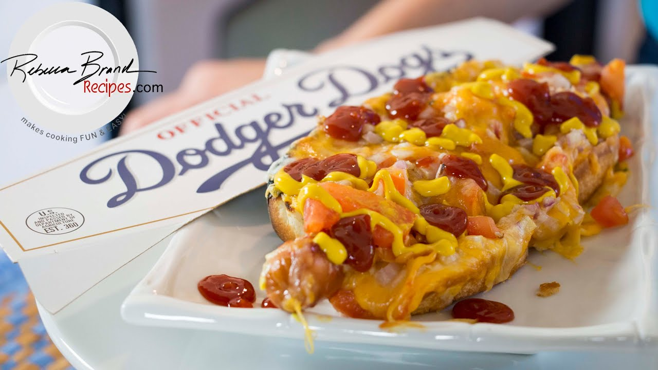 Dodgers Loaded Hot Dogs