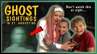 DO WE SEE GHOSTS? | CREEPY GHOST TOUR! | We Are The Davises