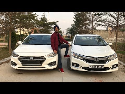 Honda City Vs Hyundai Verna Full Comparison In Hindi | Which Car Is Better For You? | Crazy4cars