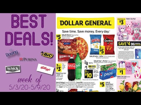 Dollar General Weekly Ad Review + BEST Digital Coupons To Clip! (Mother's Day Deals!)