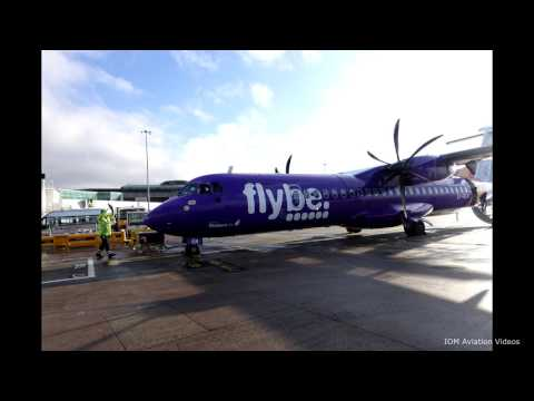 Flybe/Stobartair ATR72-500 Isle of Man-Manchester Full Flight