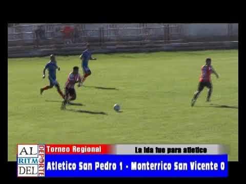 Torneo Regional - Atlético San Pedro 1 - Monterrico San Vicente 0 (Ida)