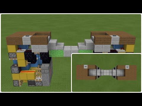 Minecraft PE INSANE REDSTONE BRIDGE (PE/Xbox/Windows10/Switch)