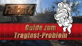Fallout 4 Traglast Problem  - 3 Lösungsmöglichkeiten