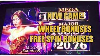 Video NEW-MOON EMPRESS SLOT MACHINE-WHEELAND FREE SPIN BONUSES download MP3, 3GP, MP4, WEBM, AVI, FLV September 2017