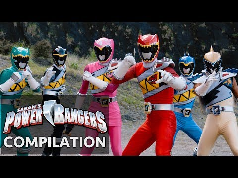 Power Rangers | Dino Super Charge Exciting Moments!
