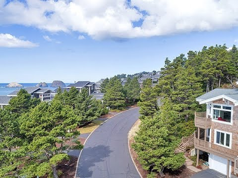 Oceanview Home in Oceanside, Oregon ~ Video of 430 Capes Dr.