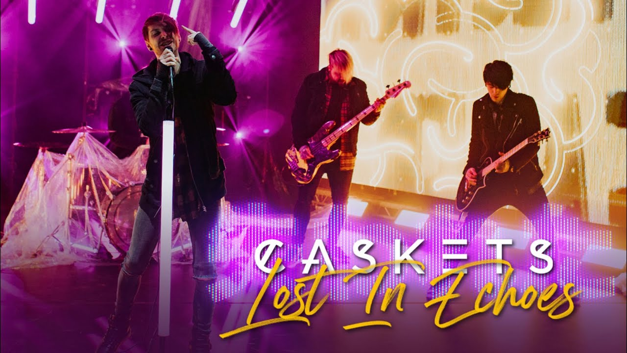 Download CASKETS  -  Lost In Echoes