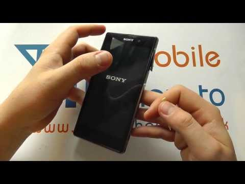 How To Switch On & Off -  Sony Xperia Z1