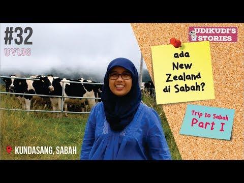 UVLOG #32 TRIP TO SABAH PART I - RUMAH TERBALIK, TAMAN KINABALU & NEW ZEALAND ASIA