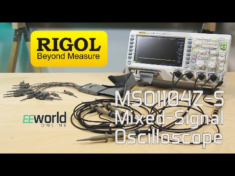 Product spotlight: Rigol MOS1104Z-S mixed signal oscilloscope
