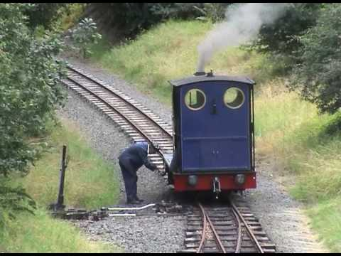 Bala Lake narrow gauge Railway Wales 2009