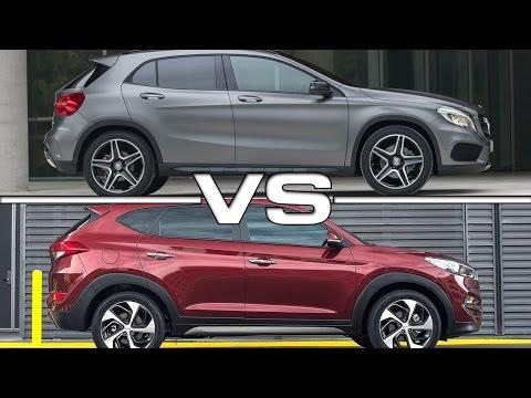 2015 Mercedes GLA vs 2016 Hyundai Tucson