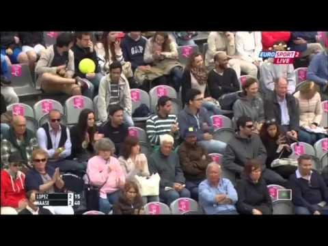Feliciano Lopez vs Robin Haase FULL MATCH Estoril 2015