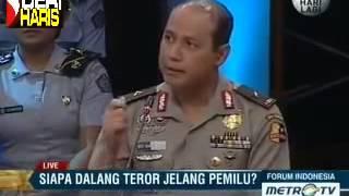 Martin Manurung dalam Forum Indonesia Siapa Dalang Teror Jelang Pemilu Part 3